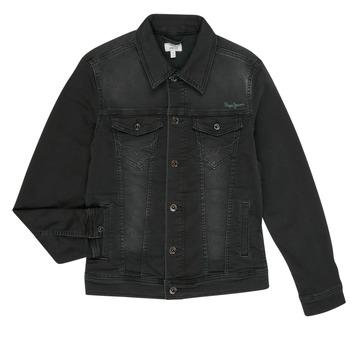 material Boy Denim jackets Pepe jeans LEGENDARY Black