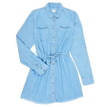 material Girl Short Dresses Pepe jeans ZOEY Blue