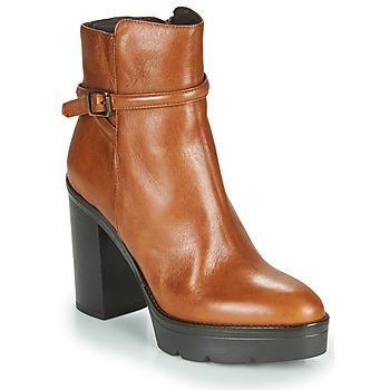 Shoes Women Ankle boots Sweet Lemon FANNY Cognac