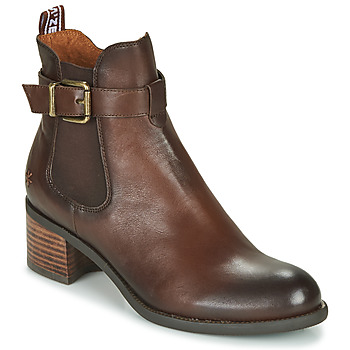 Shoes Women Ankle boots Mam'Zelle LOPEZ Brown