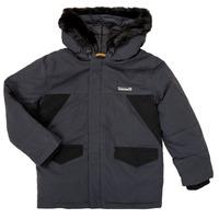 material Boy Parkas Timberland T26525 Grey
