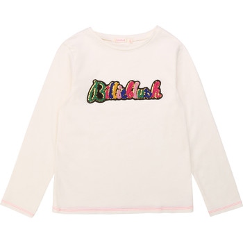 material Girl Long sleeved shirts Billieblush / Billybandit U15795 White