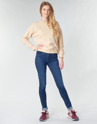 material Women Skinny jeans Levi's 721 HIGH RISE SKINNY Blue