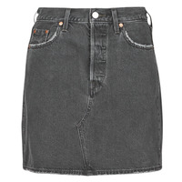 material Women Skirts Levi's HR DECON ICONIC BF SKIRT Black