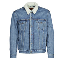 material Men Denim jackets Levi's TYPE 3 SHERPA TRUCKER Blue