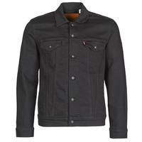 material Men Denim jackets Levi's THE TRUCKER JACKET Black