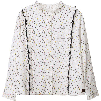 material Girl Blouses Carrément Beau Y15356 White