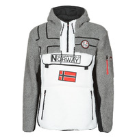 material Men Fleeces Geographical Norway RIAKOLO White