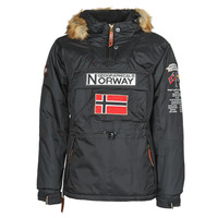 material Men Parkas Geographical Norway BARMAN Black