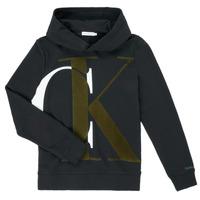 material Boy sweaters Calvin Klein Jeans IB0IB00628-BEH Black