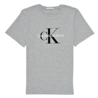 material Children short-sleeved t-shirts Calvin Klein Jeans MONOGRAM Grey