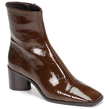 Shoes Women Ankle boots Jonak BRISEIS Cognac