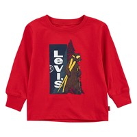 material Boy Long sleeved shirts Levi's GRAPHIC TEE LS Red