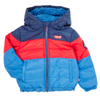 material Boy Duffel coats Levi's COLOR BLOCK PUFFER  Multicolour