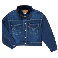 material Girl Denim jackets Levi's OVERSIZED TRUCKER Blue