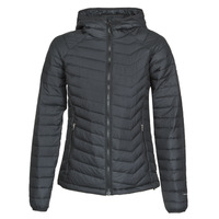 material Women Duffel coats Columbia POWDER LITE HOODED JACKET Black