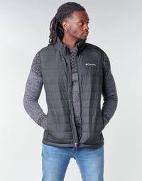 material Men Duffel coats Columbia POWDER LITE VEST Black