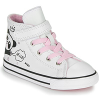 Shoes Girl High top trainers Converse CHUCK TAYLOR ALL STAR 1V - NOTES FROM BFF White