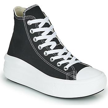 Shoes Women High top trainers Converse Chuck Taylor All Star Move Canvas Color Hi Black