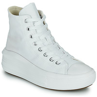 Shoes Women High top trainers Converse Chuck Taylor All Star Move Canvas Color Hi White