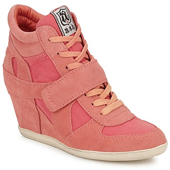 Shoes Women High top trainers Ash BOWIE Pink / Pastel