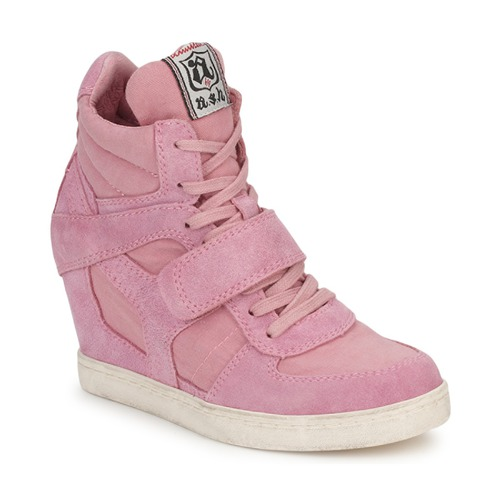 Shoes Women High top trainers Ash COOL Pink