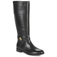 Shoes Women Boots Lauren Ralph Lauren BAYLEE Black