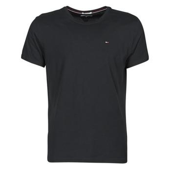 material Men short-sleeved t-shirts Tommy Jeans TJM ORIGINAL JERSEY TEE Black