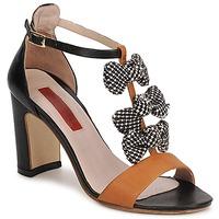 Shoes Women Sandals MySuelly NOE Black / Brown