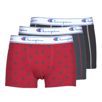Underwear Men Boxer shorts Champion BOXER LEGACY X3 Black / Grey / Red