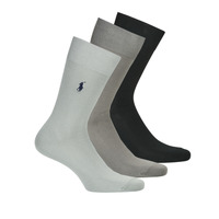 Accessorie Men Socks Polo Ralph Lauren ASX91 MERCERIZED COTTON Marine / Grey / Grey