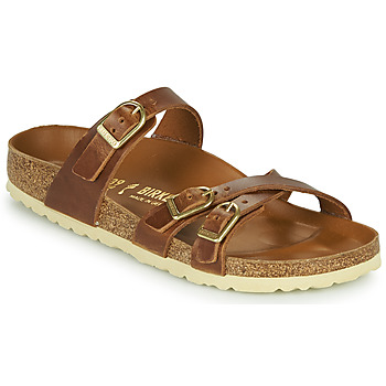 Shoes Women Mules Birkenstock FRANCA Brown