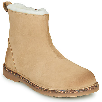 Shoes Women Mid boots Birkenstock MELROSE SHEARLING Beige