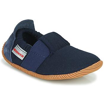 Shoes Children Slippers Giesswein SOLL Marine