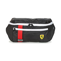 Bags Men Bumbags Puma Ferrari Race Waist Bag Black / Red / Yellow