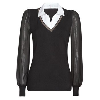 material Women jumpers Morgan MVANI Black