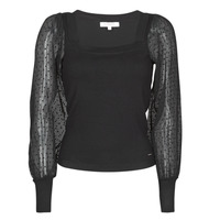 material Women jumpers Morgan MLAKI Black