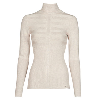 material Women jumpers Morgan MENTOS Beige