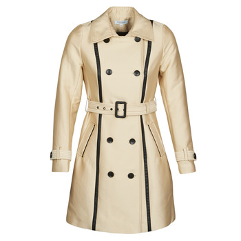 material Women Trench coats Morgan GASTON Beige