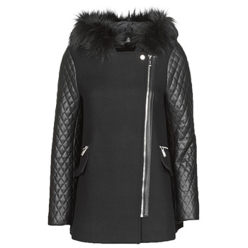 material Women coats Morgan GCABI Black