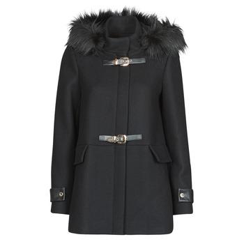 material Women coats Morgan GCALIS Black