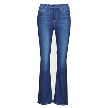 material Women bootcut jeans Pepe jeans DION FLARE Blue / Medium