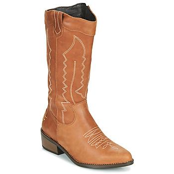 Shoes Women Boots Musse & Cloud TEDINA Cognac
