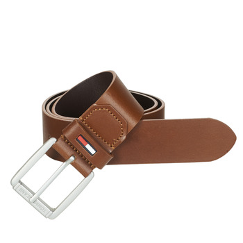 Clothes accessories Men Belts Tommy Jeans TJM METAL ROLLER BELT 4.0 Cognac