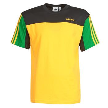material Men short-sleeved t-shirts adidas Originals CLASSICS SS TEE Gold