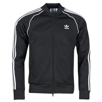 material Men Jackets adidas Originals SST TT P BLUE Black