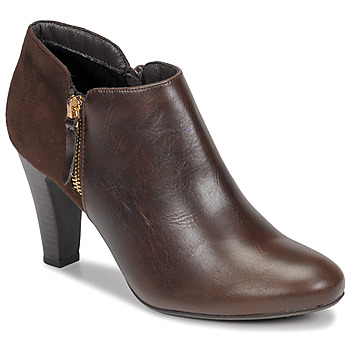 Shoes Women Low boots Moony Mood NOULETTE Brown