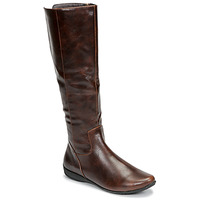 Shoes Women Boots Moony Mood NONETTE Brown