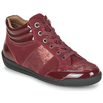 Shoes Women High top trainers Damart 57079 Bordeaux