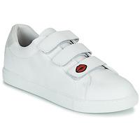 Shoes Women Low top trainers Bons baisers de Paname EDITH LEGENDE White